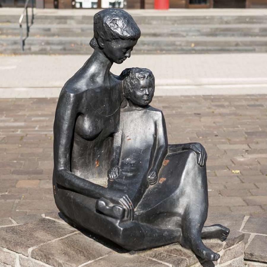 Inge Andler-Laurenz - Mutter und Kind