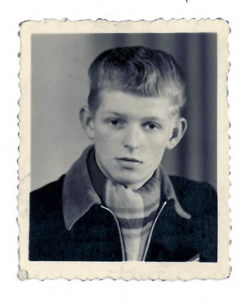Eberhard Gnahs, 16 Jahre alt